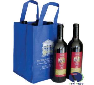 Túi vải không dệt đựng rượu Trí Việt