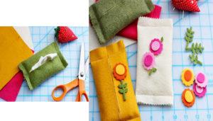 Túi vải bố đựng khăn giấy có thể tiện lợi đặt ở bất cứ nơi đâu cũng không tốn diện tích mà lại rất đẹp và xinh xắn