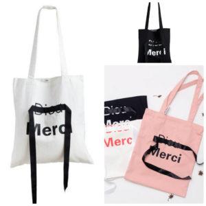 Túi vải bố in chữ thời trang được sản xuất tại cơ sở Trí Việt- chất lượng, uy tín, giá rẻ nhất
