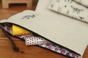 Túi vải bố để đồ trang điểm có kiểu dáng đẹp, độ bền cao, sử dụng tiện lợi, bảo vệ môi trường