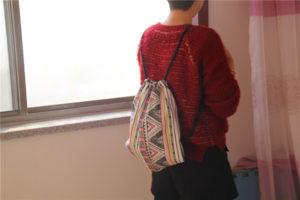 Túi vải bố dây rút được các bạn trẻ yêu thích và được nhiều doanh nghiệp sử dụng, là sản phẩm để chứa đựng các vật phẩm bên trong, có tính thẩm mỹ cao.