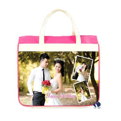 Túi vải bố đựng album hình cưới