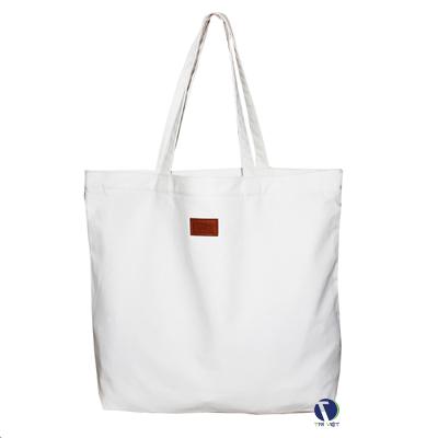 Túi vải bố màu trắng