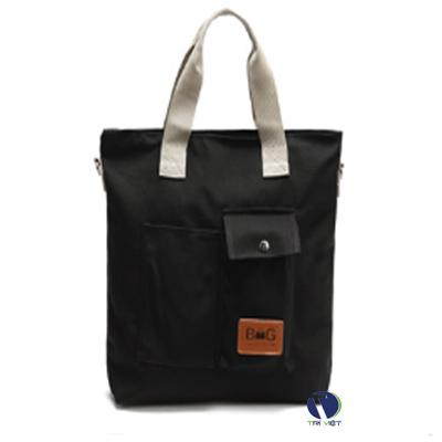 Túi vải bố nhiều ngăn đa năng, tiện lợi