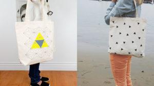 Túi vải bố hình chóp có thể sử dụng cho nhiều mục đích khác nhau