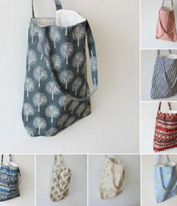 Túi vải bố nhiều họa tiết được thiết kế bởi vải bố chất lượng, màu sắc tự nhiên, cùng với những họa tiết in đẹp mắt, đa dạng.