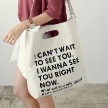 Túi vải bố đục lỗ với sự tiện dụng, sang trọng và thiết kế gọn gàng tạo được cảm mến cho người dùng