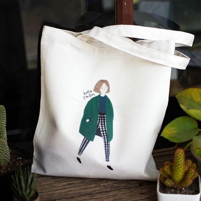 In hình lên túi vải bố theo yêu cầu không chỉ làm marketing mà chúng tạo ra những chiến túi vải mang phong cách riêng