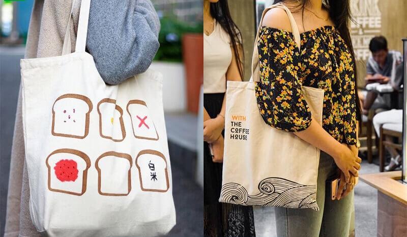 In túi tote vải bố theo yêu cầu dù chỉ 1 chiếc mang tới cho bạn sự sáng tạo
