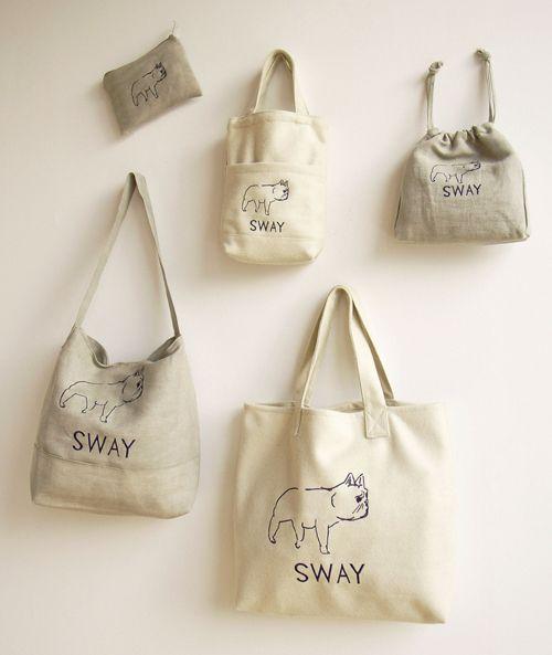 Túi vải bố sẽ tạo được ấn tượng nếu được sử dụng phù hợp trong những hoàn cảnh khác nhau