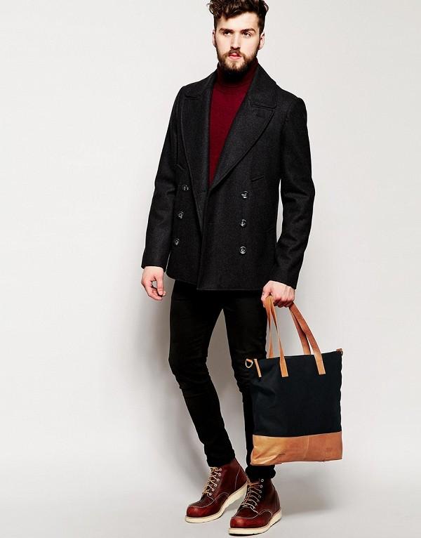 Những chiếc túi tote làm từ vải bố cho nam là tuyên ngôn cá tính cho những anh chàng bụi phủi