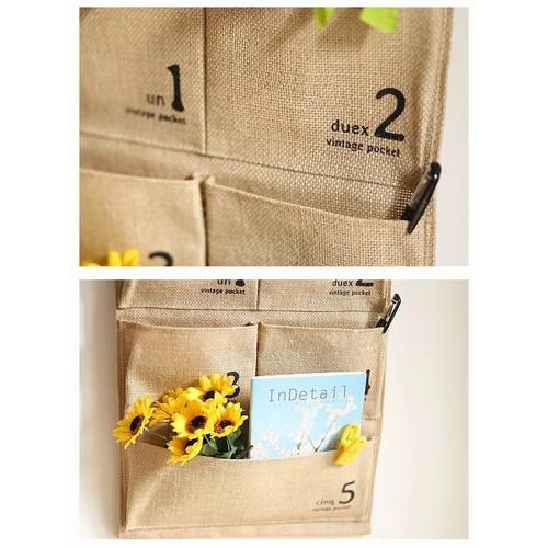Túi vải bố treo tường được nhiều khách hàng lựa chọn nhờ sự tiện dụng, phù hợp với nhiều không gian sống và mục đích sử dụng khác nhau