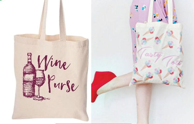 Túi vải bố xách tay để làm một kênh marketing truyền bá thông điệp của doanh nghiệp đến khách hàng và lan tỏa thương hiệu.