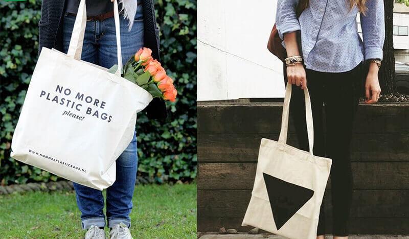 Túi vải bố ngày nay với thiết kế đầy cá tính và phong cách hứa hẹn sẽ mang đến nhiều bất ngờ.