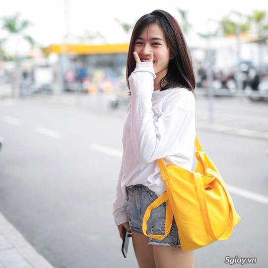 Túi vải bố còn là sản phẩm thời trang, tiện dụng, bảo vệ môi trường và có giá trị kinh tế với dòng túi vải bố chất lượng