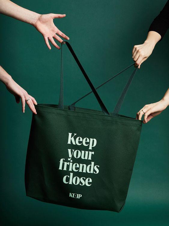 Túi vải bố nâng cao giá trị, khẳng định chất lượng sản phẩm thông qua việc in ấn thương hiệu