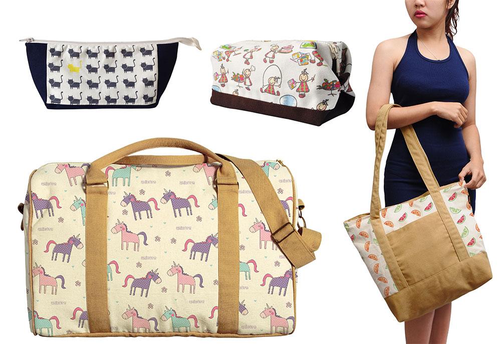 Chọn kích thước túi vải bố phù hợp với nhu cầu, mục đích khi đi du lịch