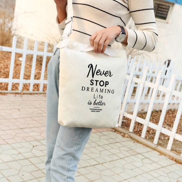 Tuân theo các quy tắc sử dụng và bảo quản để giữ cho chiếc túi vải bố của mình luôn bền đẹp