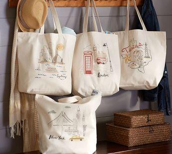 Túi vải bố ngoài việc được sử dụng bảo quản sản phẩm còn là phương thức quảng cáo hiệu quả thông qua in logo, tên thương hiệu.