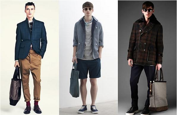 Túi vải bố đang ngày càng trở thành xu hướng thời trang không chỉ dành cho nữ mà dành cả cho nam