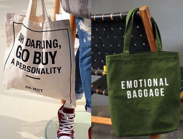 Túi vải bố đang ngày càng được sử dụng nhiều hơn, đáp ứng được nhu cầu của nhiều đối tượng khách hàng