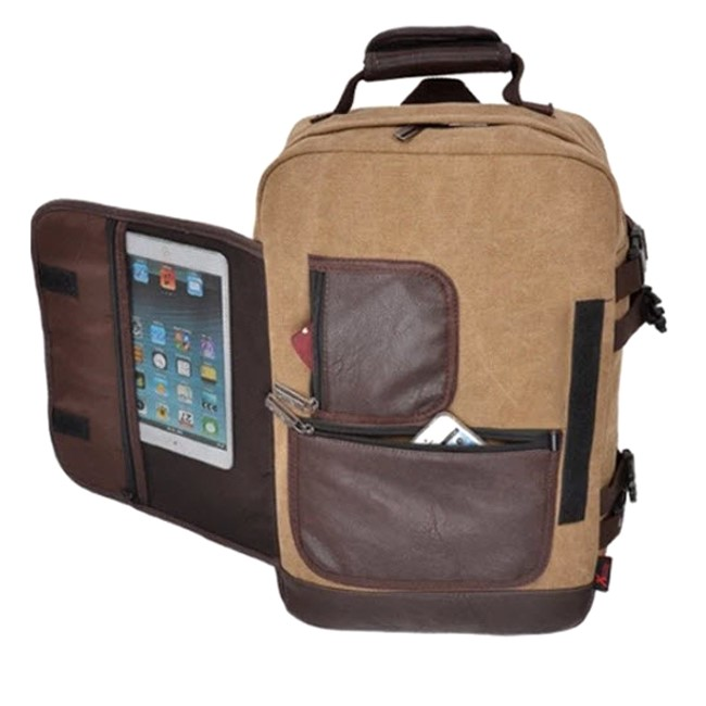 Túi vải canvas phối da vừa tiện ích vừa mang lại giá trị kinh doanh cho doanh nghiệp