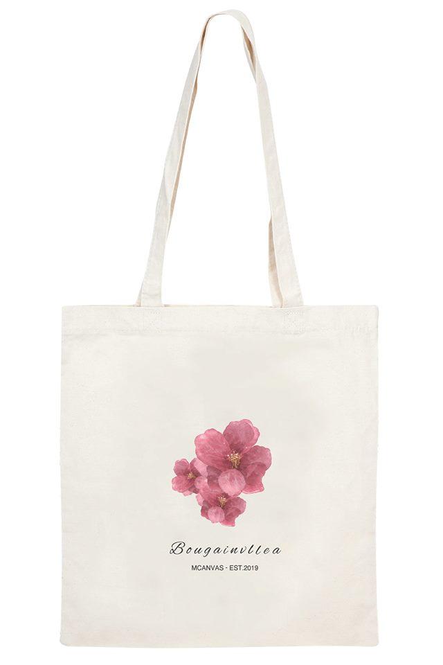 Túi vải canvas được làm từ chất liệu tự nhiên không làm ảnh hưởng tới nguồn tài nguyên môi trường