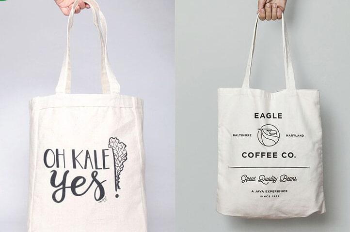 Túi vải bố dạng xách tay là một trong những kiểu dáng được người tiêu dùng ưa chuộng nhất.