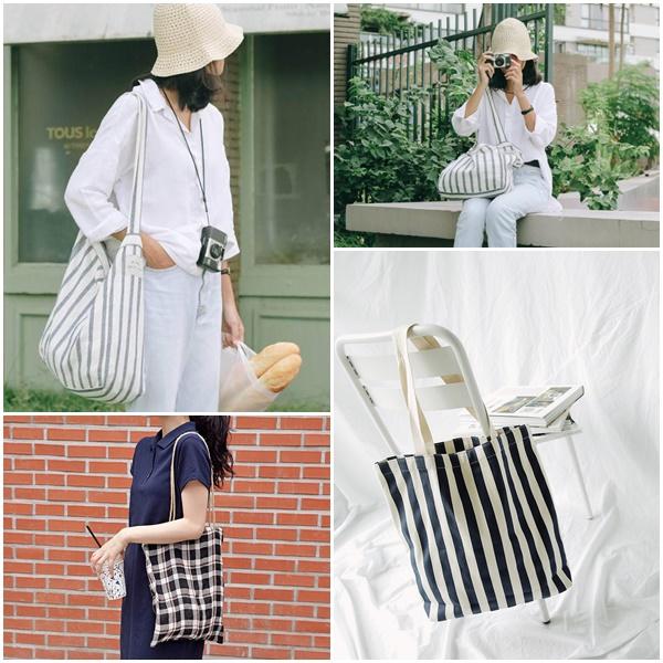 Với vẻ ngoài đơn giản nhưng đầy ấn tượng, những chiếc túi xách được làm từ vải bố là sự lựa chọn hàng đầu hiện nay.
