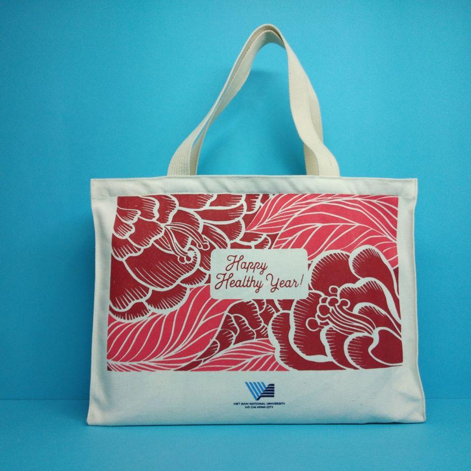 Túi vải bố dạng hộp tại Trí Việt- giá rẻ, chất lượng