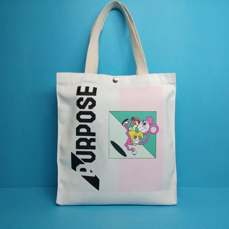 Túi vải bố dạng hộp với giá rẻ, lại tiện dụng, phong cách và không bị lỗi thời, giúp đáp ứng hoàn hảo cho việc quảng bá thương hiệu và sản phẩm