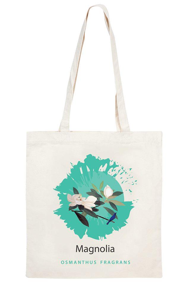 Túi vải canvas hình hoa không chỉ tiện lợi, bền chắc mà còn là phụ kiện thời trang lý tưởng cho mọi loại trang phục