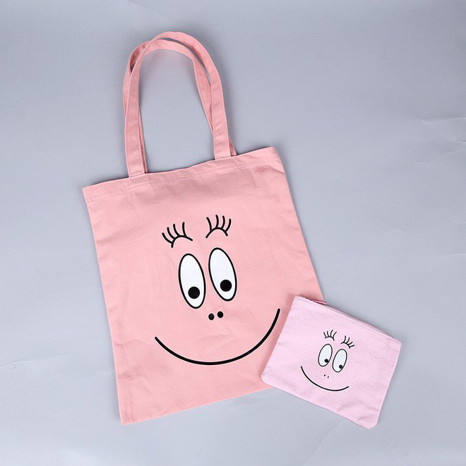 Những chiếc túi canvas rẻ tiền sẽ sử dụng màu mực và công nghệ in rẻ tiền để tiết kiệm chi phí nhất