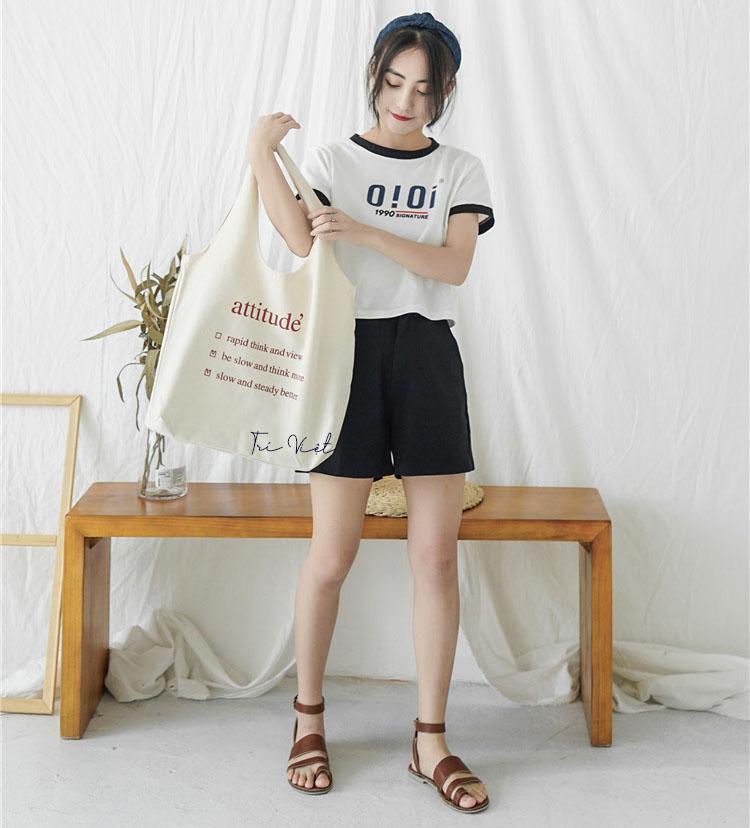 Túi vải Canvas tại cơ sở sản xuất Trí Việt không những cho chất lượng tốt mà giá cả cạnh tranh, dịch vụ chuyên nghiệp