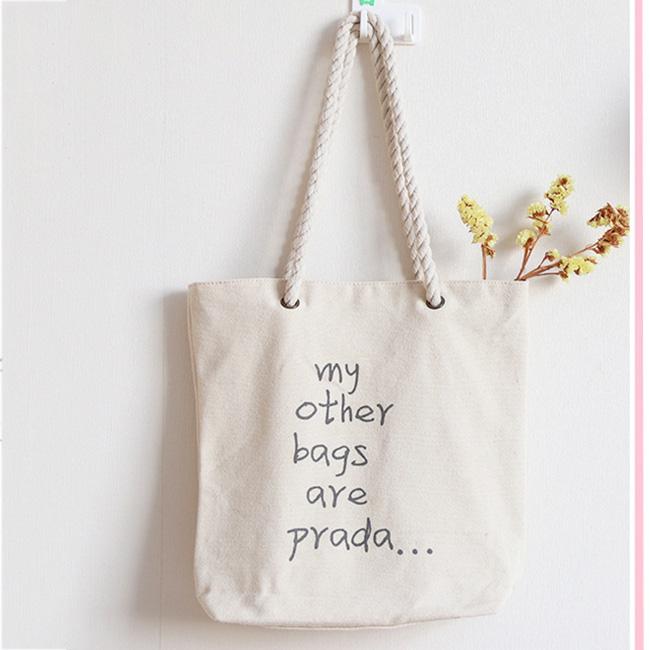 Mua túi vải canvas kém chất lượng sẽ khiến bạn tốn thêm khoản chi phí để mua túi mới