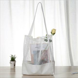 Túi lưới canvas với thiết kế nhỏ gọn, thời trang mà cũng rất thiết thực