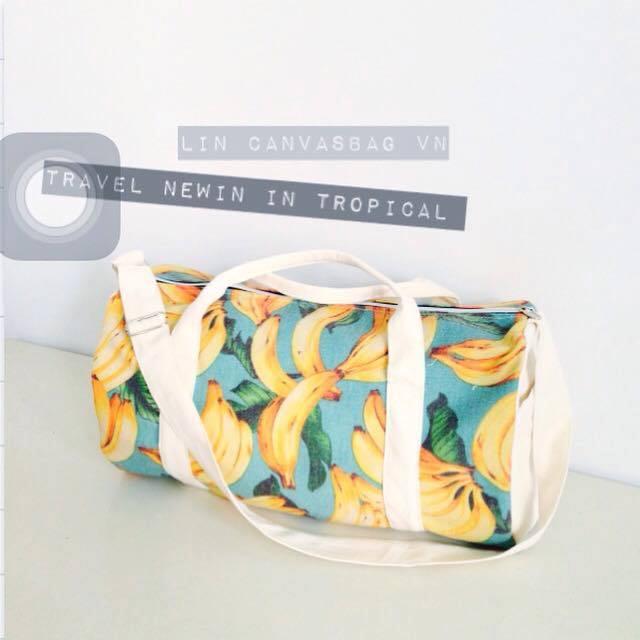 Túi trống với thiết kế thời trang sử dụng cho nhiều nhu cầu khác nhau mang đến cho người sử dụng phong cách bụi vô cùng cá tính.