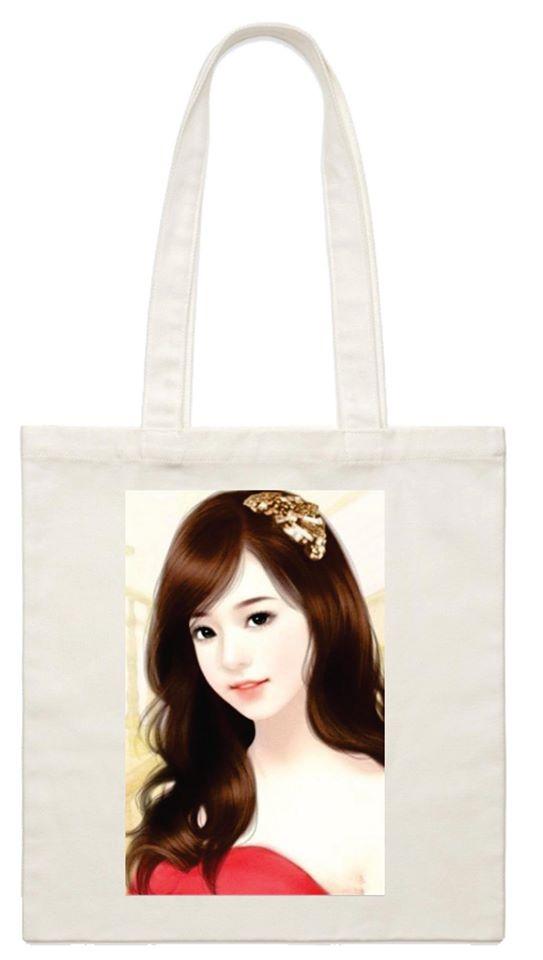 Sử dụng một chiếc túi canvas với hình in là avatar bản thân sẽ khiến cho chủ sở hữu có được sự thích thú và tự tin hơn khi đeo chúng