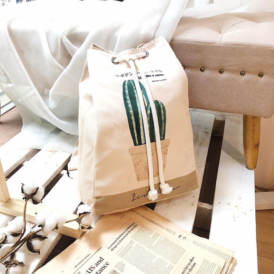 Giá trị về mặt kinh tế, sự tiện dụng đối với người tiêu dùng và thân thiện với môi trường, túi vải canvas dây rút xứng đáng để sử dụng.