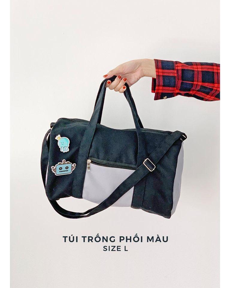 Túi trống vải canvas chất lượng, thời trang và giá rẻ tại Trí Việt