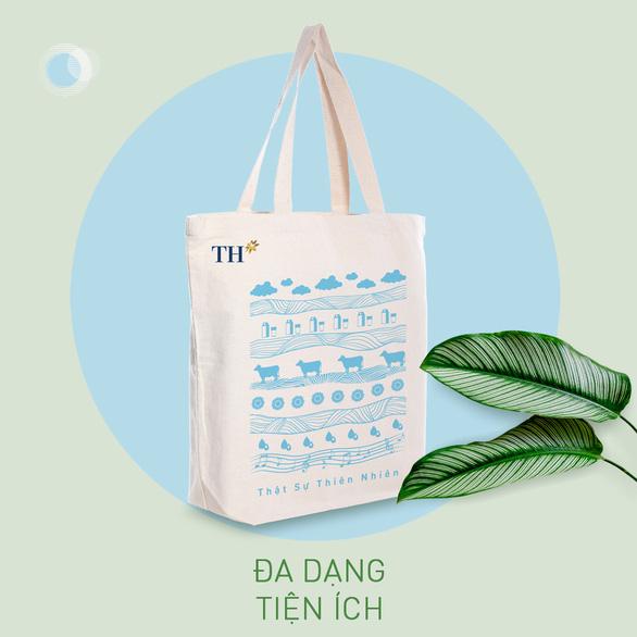 Túi vải canvas TH - Giải pháp xanh giảm thiểu rác thải nhựa