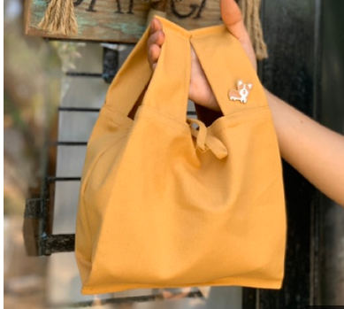Túi vải canvas mang dáng dấp túi nylon được xem là bao bì xanh, phù hợp với nhu cầu sử dụng hàng ngày của con người.