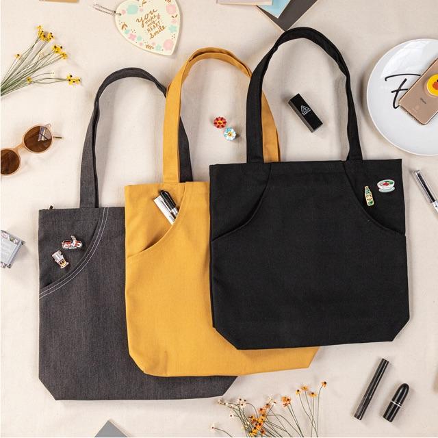 Túi vải canvas Trí Việt giá rẻ, chất lượng cùng đồng hành với xu hướng mới