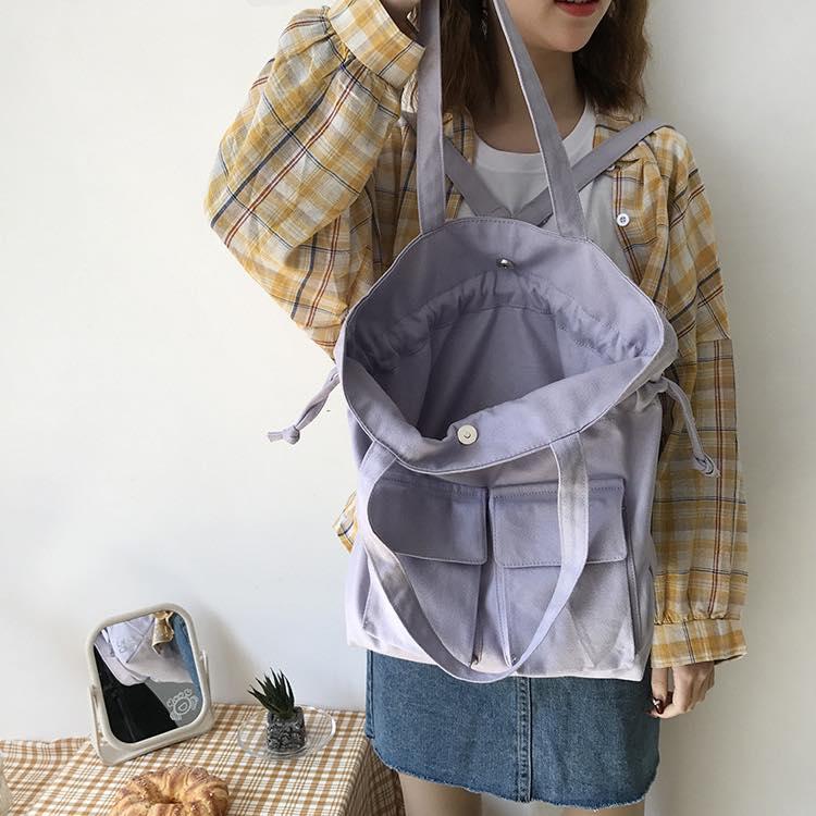 """Túi vải canvas chất lượng, giá rẻ tại Trí Việt là phụ kiện thời trang thích hợp cho việc """"sống ảo"""""""