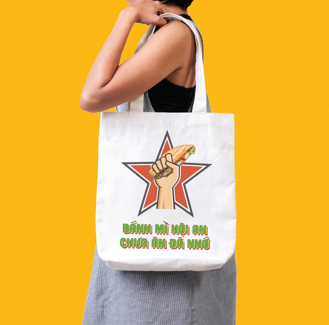 Túi vải canvas in hình Hội An chất lượng, thời trang và giá rẻ tại Trí Việt