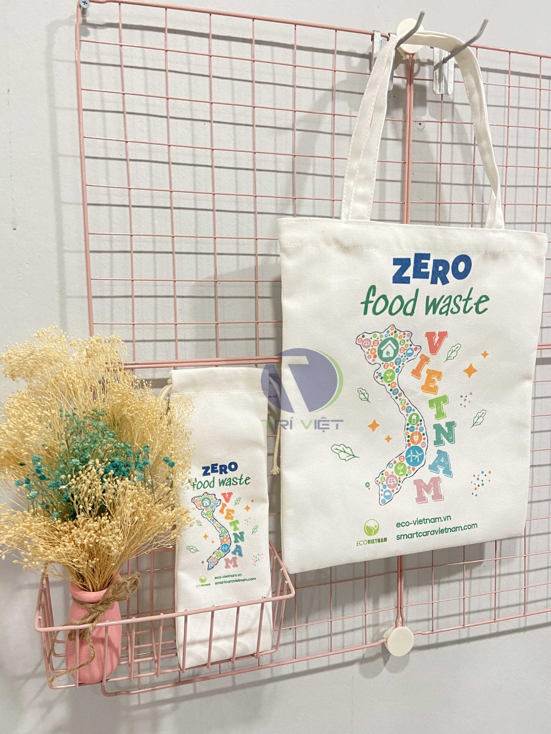 Trí Việt cung cấp túi vải canvas là quà tặng mang thương hiệu doanh nghiệp giá rẻ, chất lượng tại tphcm