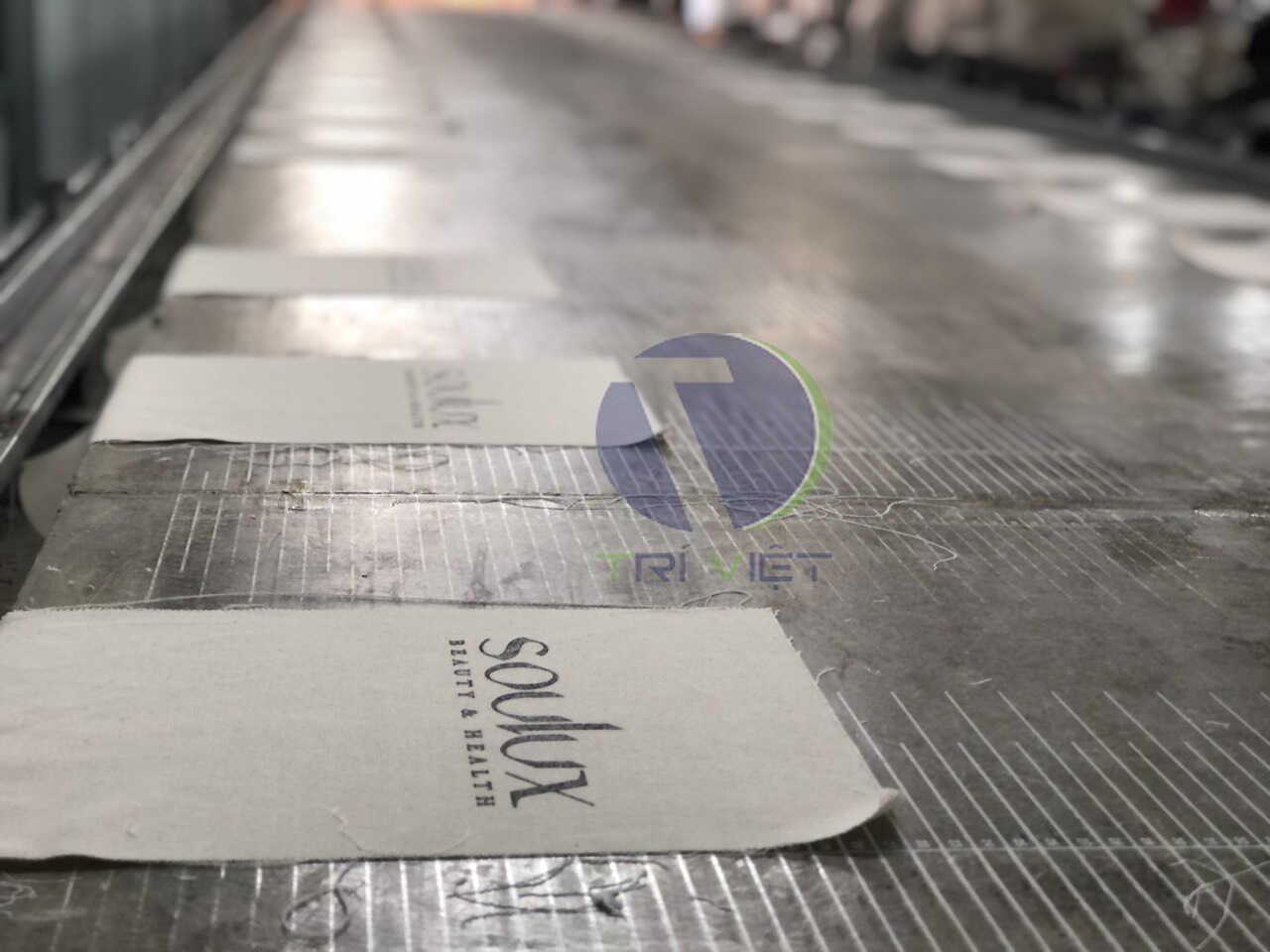 Túi vải canvas may in theo yêu cầu mang giá trị thương hiệu đảm bảo chất lượng, giá rẻ tại Trí Việt