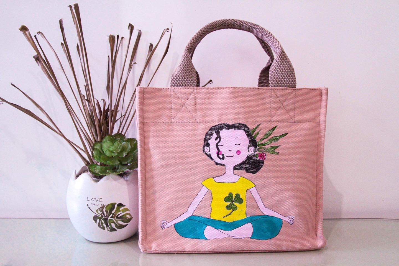 Túi vải canvas cho các trung tâm yoga sẽ làm sản phẩm độc quyền khiến ai cũng sẽ nhớ đến thương hiệu của bạn