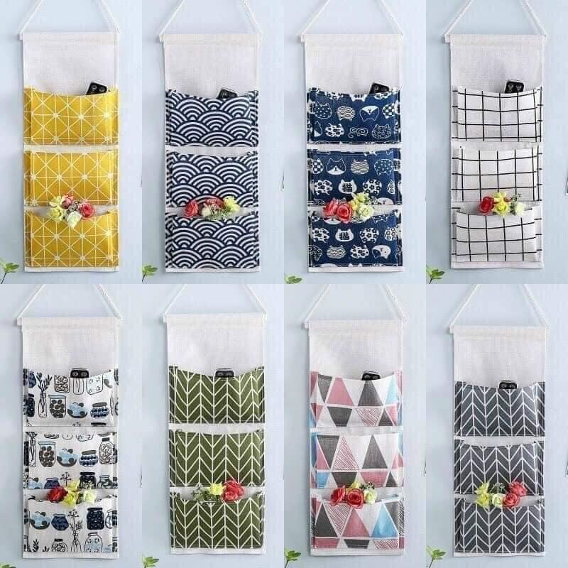 Túi vải treo tường là 1 trong những vật dụng không nên thiếu trong căn phòng, trong ngôi nhà của bạn